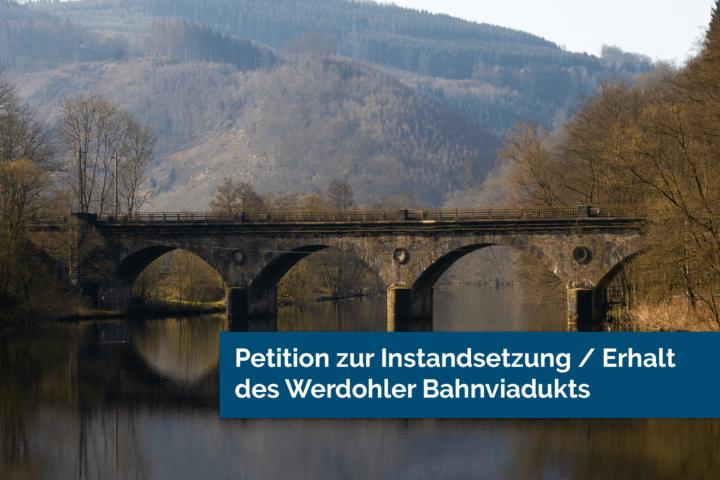 Petition zum Bahnviadukt